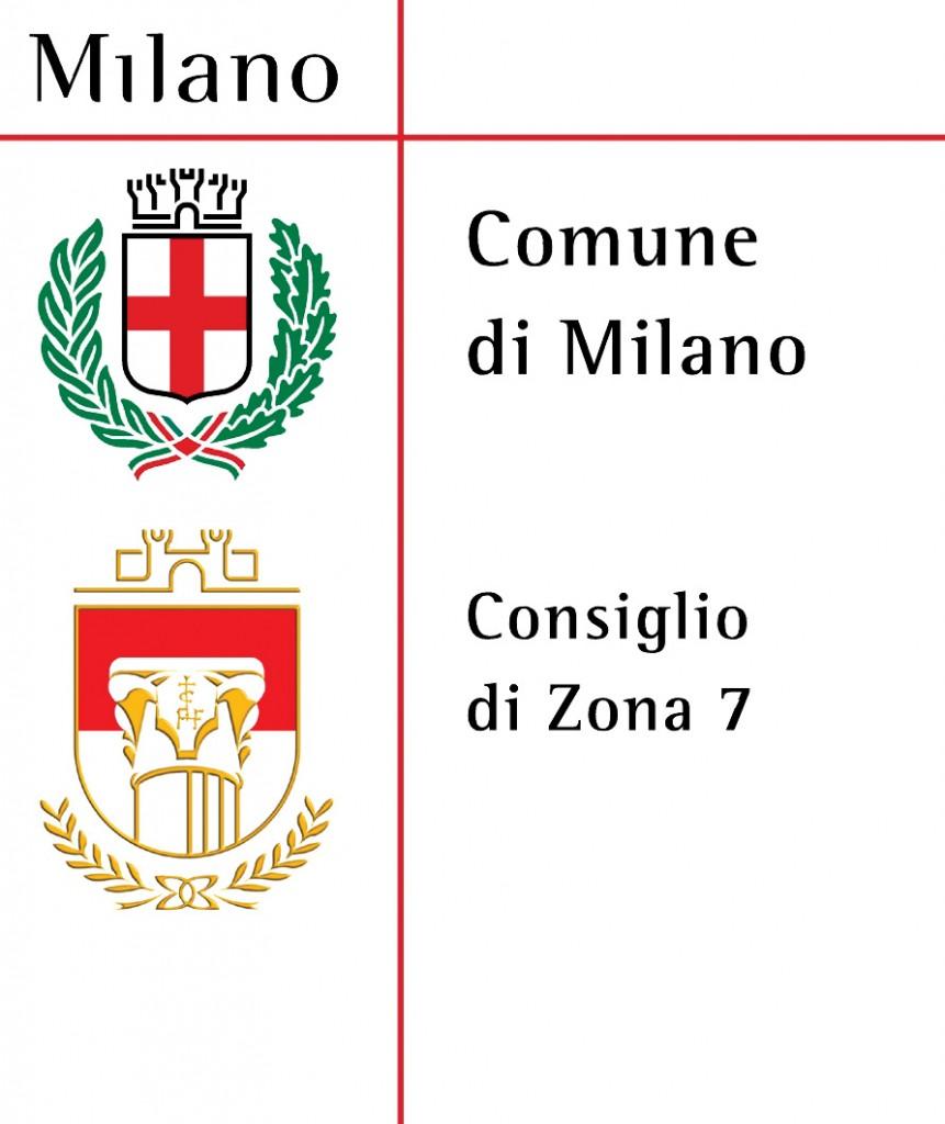 Logo unificato Comune di Milano - Zona 7