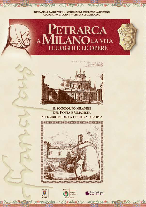 Progetto grafico della miscellanea 'Petrarca a Milano. La vita, i luoghi, le opere' (2007)