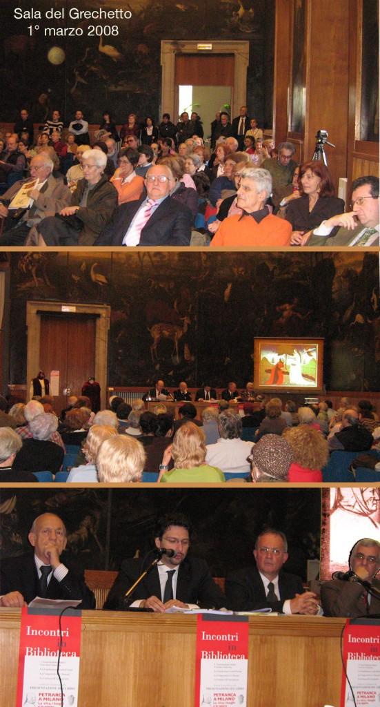 Presentazione del libro 'Petrarca a Milano' (2008)