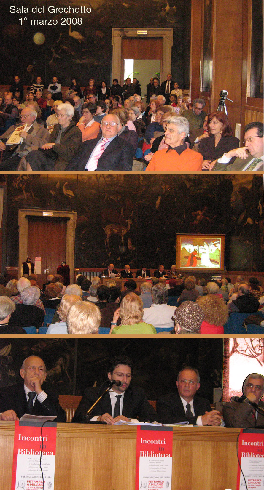Presentazione della miscellanea 'Petrarca a Milano' (2008)