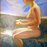 La terrazza dei sogni. Acrilico su tela (2010)