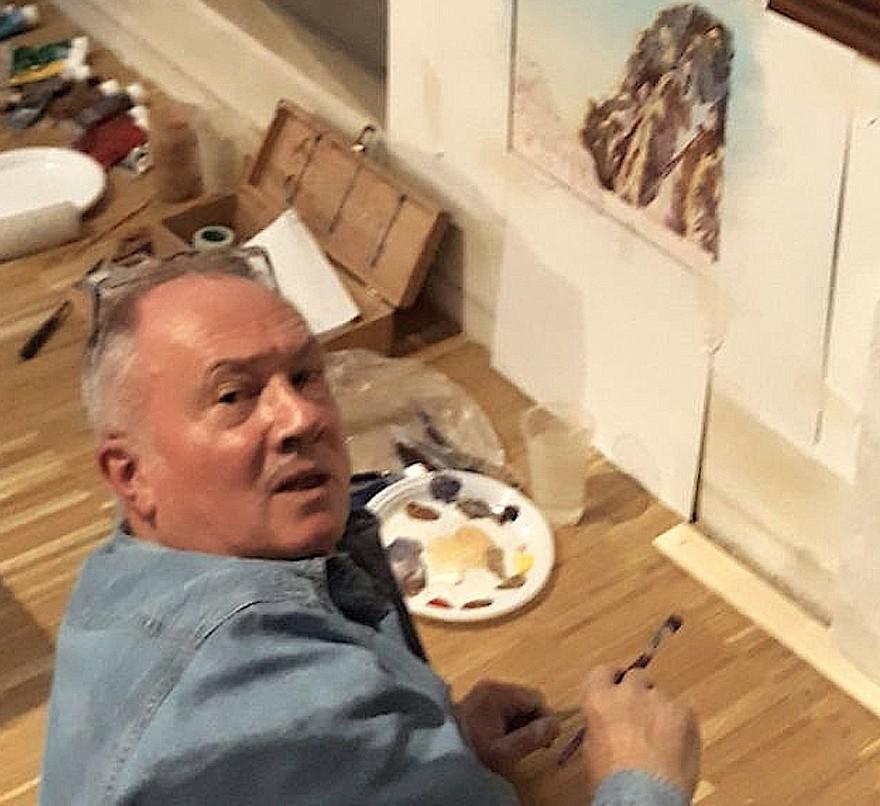 Massimo de Rigo Live Painting alla Triennale di Milano (2018)