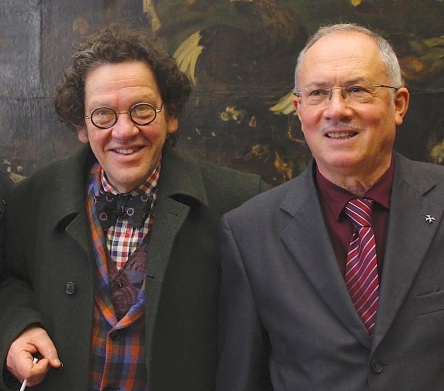 Philippe Daverio e Massimo de Rigo