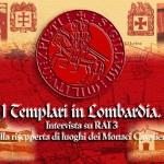 Intervista a RAI 3 Lombardia sulle località templari in Lombardia (2004)