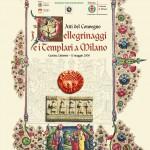 Copertina Atti del Convegno 'I Pellegrinaggi e i Templari a Milano' (2003
