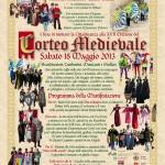 locandina Corteo Medievale sms 'Benedetto Marcello' (2013)