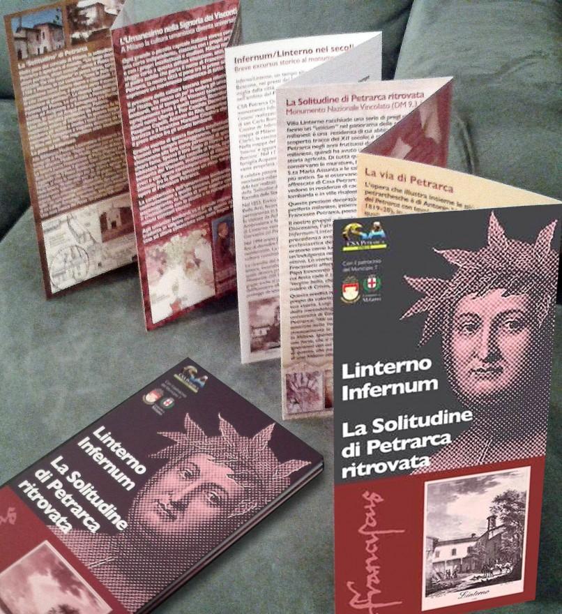 Pieghevole a fisarminica La Solitudine di Petrarca ritrovata (2018)