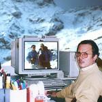 La prima stazione sperimentale di computer grafica. Editoriale Domus (1990)
