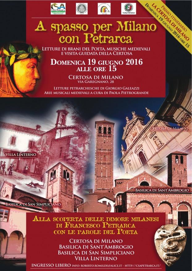 Alla scoperta delle dimore milanesi di Petrarca (2016)