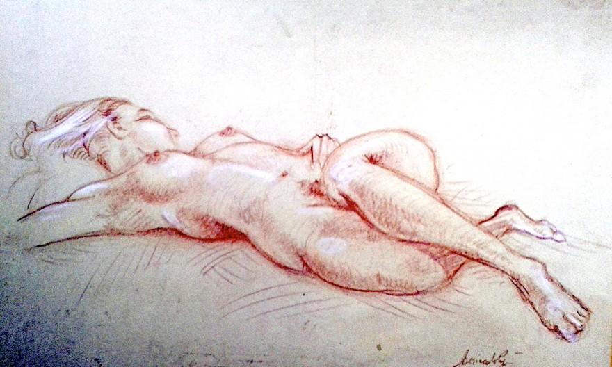 Nudo. Pastello (2009)