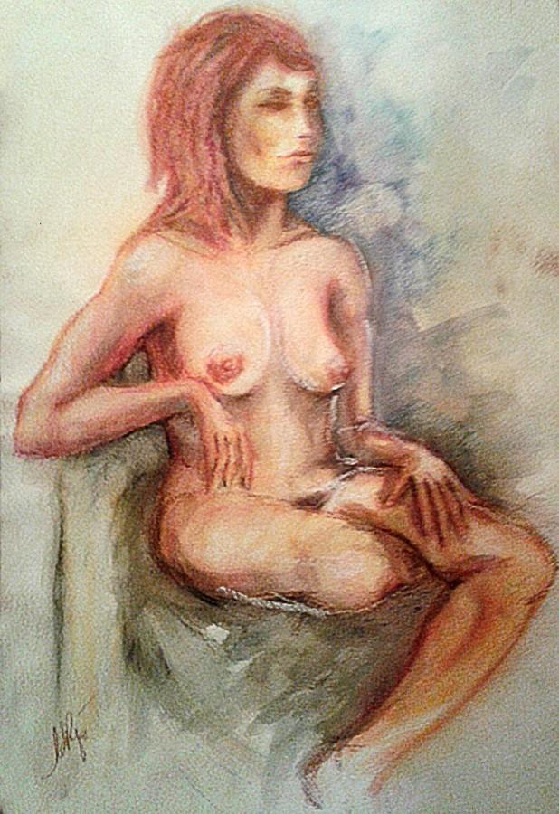 Nudo. Acquerello (2011)