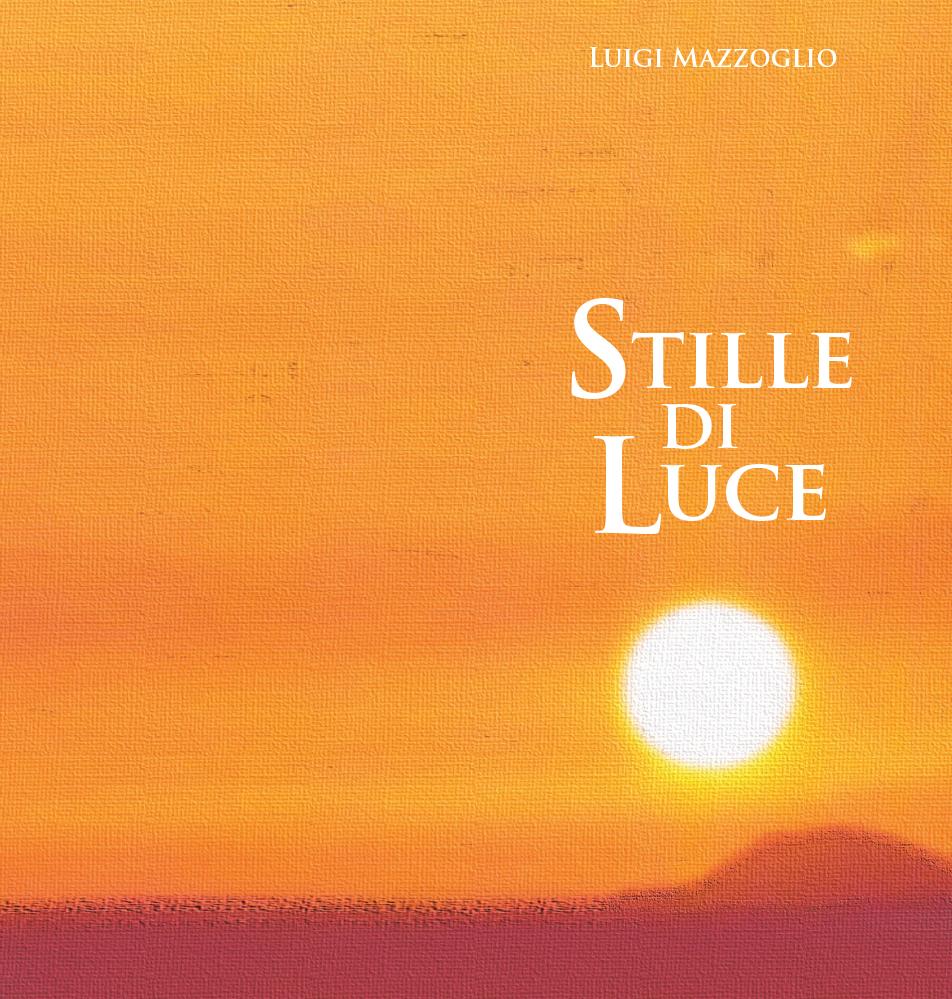 Copertina e retro libro di poesie di don Luigi Mazzoglio (2015)