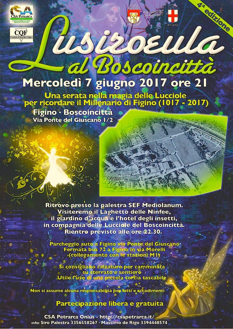 Poster Lusiroeula Boscoincittà (2017)