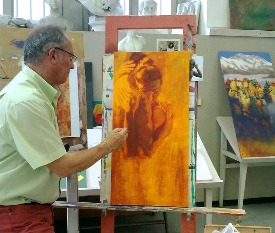 Laboratorio di Tecniche pittoriche - Scuola sup. d'Arte del Castello