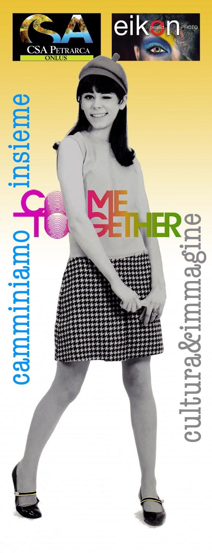 Poster 'Come Together'. Foto di Renato Bosoni. Grafica di Massimo de Rigo (2017)