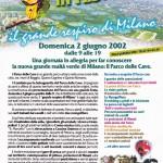 Locandina 'Parco delle Cave in Festa' (2002)