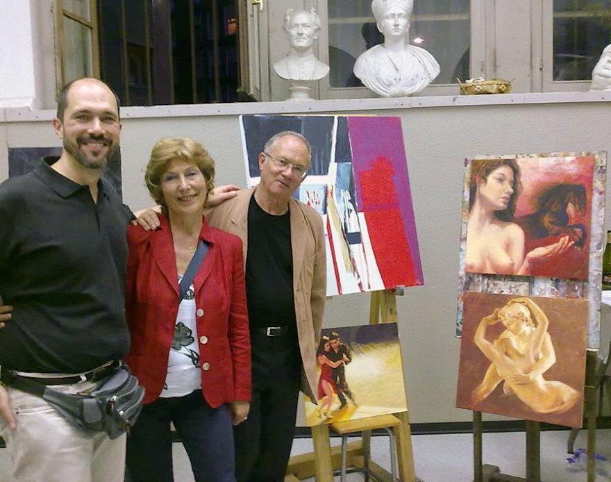 Laboratorio di tecniche pittoriche, scuola d'Arte del Castello