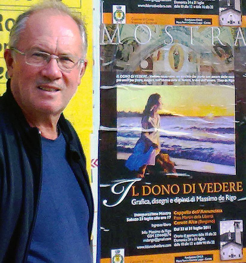 Affissioni Mostra 'Il dono di Vedere' (2011)