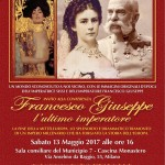 Poster Conferenza 'Francesco Giuseppe. L'ultimo imperatore' (2017)