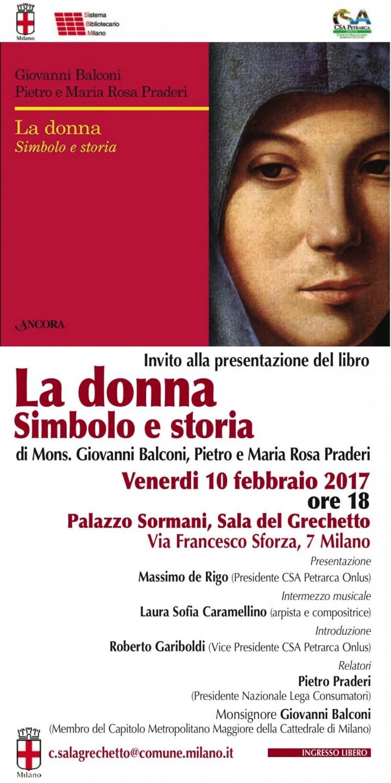 Locandina La donna. Simbolo e storia (2017)