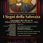 Locandina 'I Segni della Salvezza' (2011)