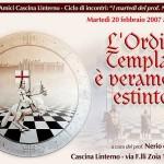 Conferenza sull'Ordine dei Templari di Nerio de Carlo. Locandina (2006)