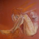 Studio anatomico. Pastello (2011)