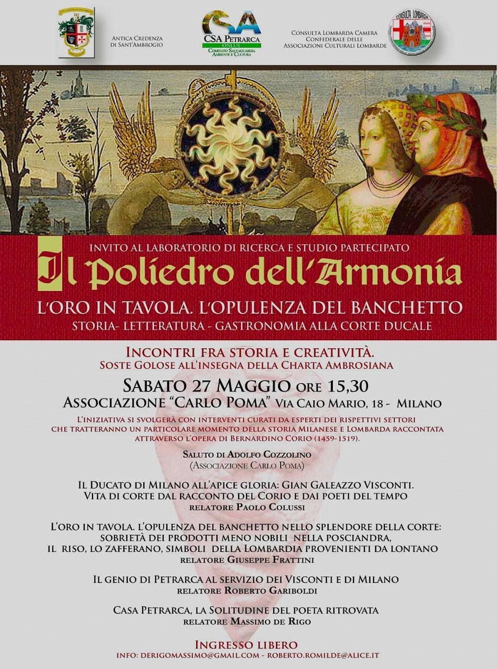 Poster Poliedro dell'Armonia (2017)
