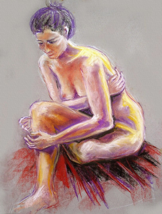 Tristezza. Matite e pastelli (2013)