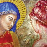 Maria, madre di Dio e dell'umanità. Affresco e tecniche miste su malta (2017)