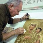 Antichizzazione icona Maria della Dormizione