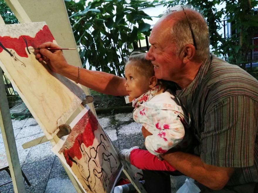 Nonno & nipotina