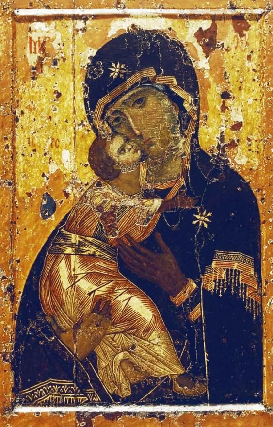 L'Icona originale della Madonna di Vladimir (Vladimirskaja)