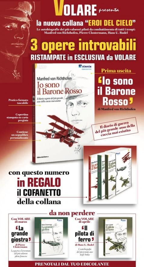 Campagna stampa Volare Eroi del cielo - (C) Editoriale Domus SpA