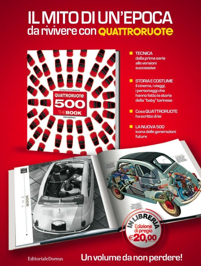 Campagna stampa Quattroruote Fiat 500 - (C) Editoriale Domus SpA