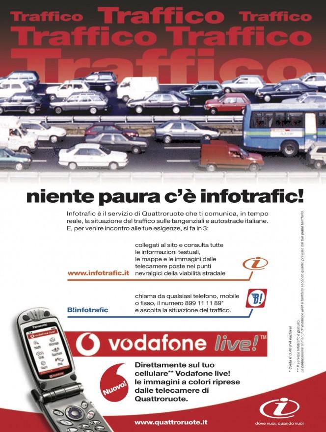 Campagna stampa Quattroruote Infotrafic - (C) Editoriale Domus SpA
