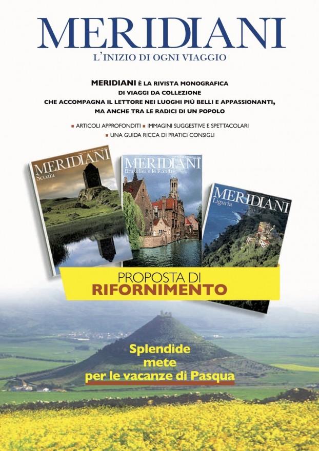 Campagna stampa Meridiani arretrati - (C) Editoriale Domus SpA