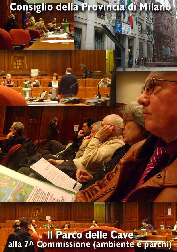 Audizione del CSA al Consiglio Provinciale 3 marzo 2009