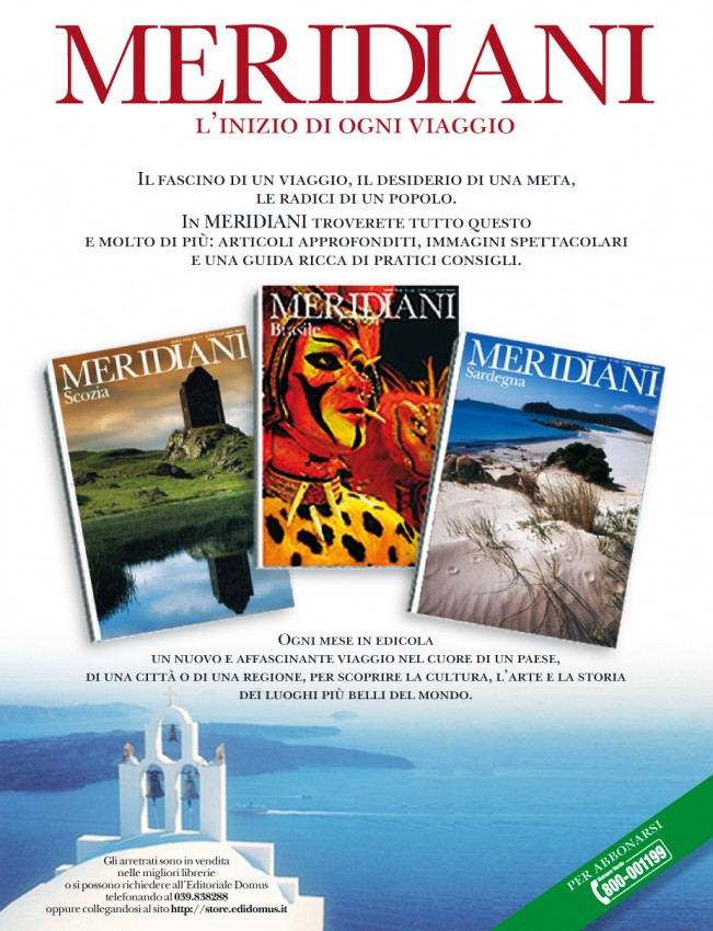 Campagna stampa Meridiani - (C) Editoriale Domus SpA