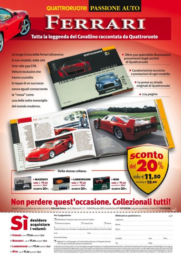 Campagna stampa Passione Ferrari - (C) Editoriale Domus SpA