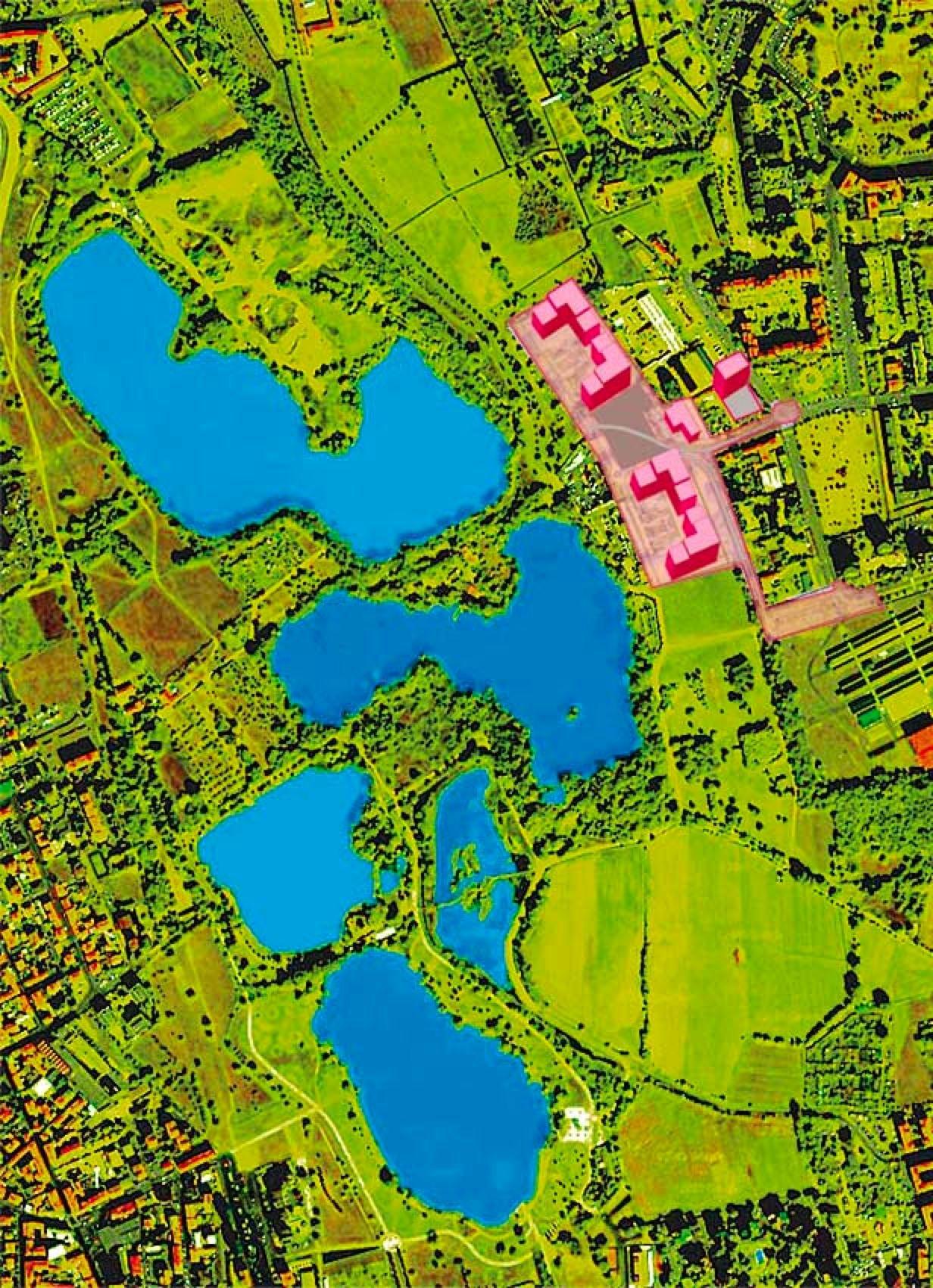 Veduta satellitare Parco delle Cave (2006)