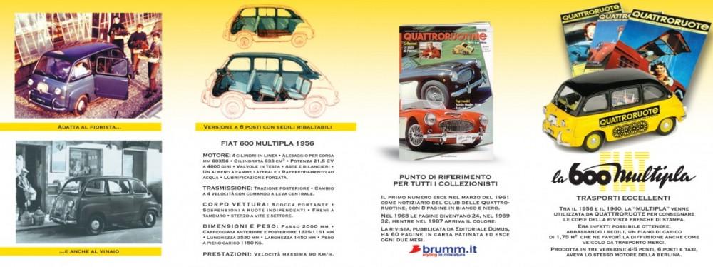 Pieghevole Quattroruotine - (C) Editoriale Domus SpA