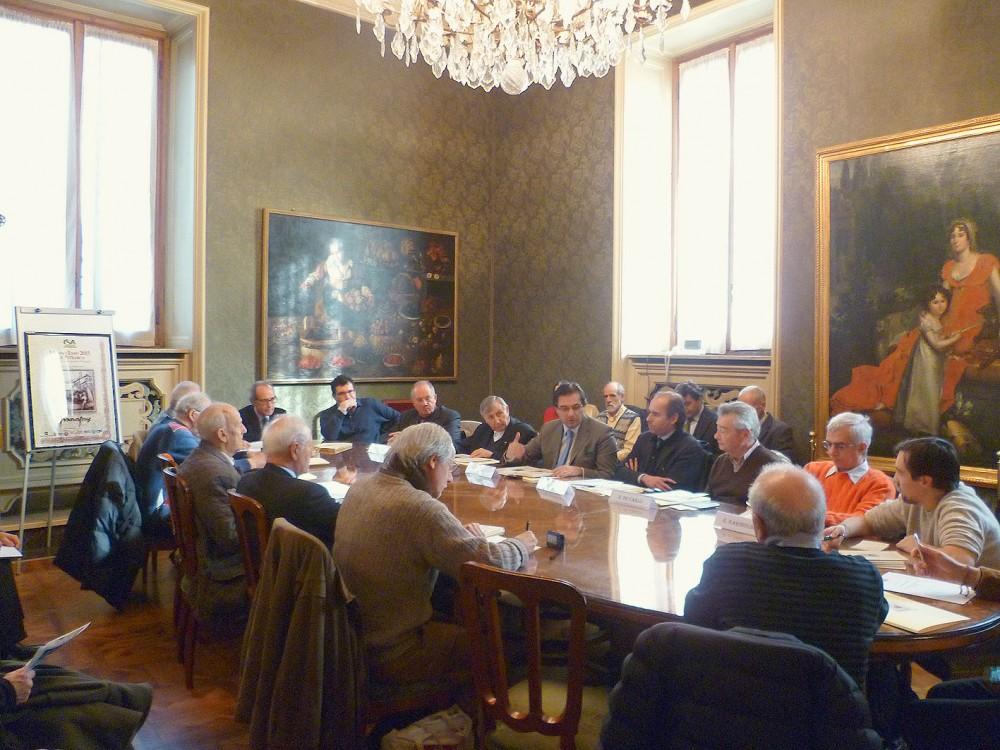 """Presentazione a Palazzo Marino, sala Marra, del saggio storico """"Milano Expo 2015 per Petrarca"""""""