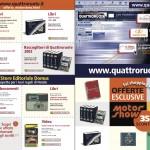 Opuscolo Quattroruote Motorshow- (C) Editoriale Domus SpA