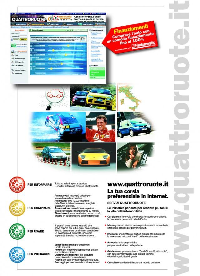 Pagine Quattroruote Vortal- (C) Editoriale Domus SpACampagna stampa Quattroruote Vortal- (C) Editoriale Domus SpA