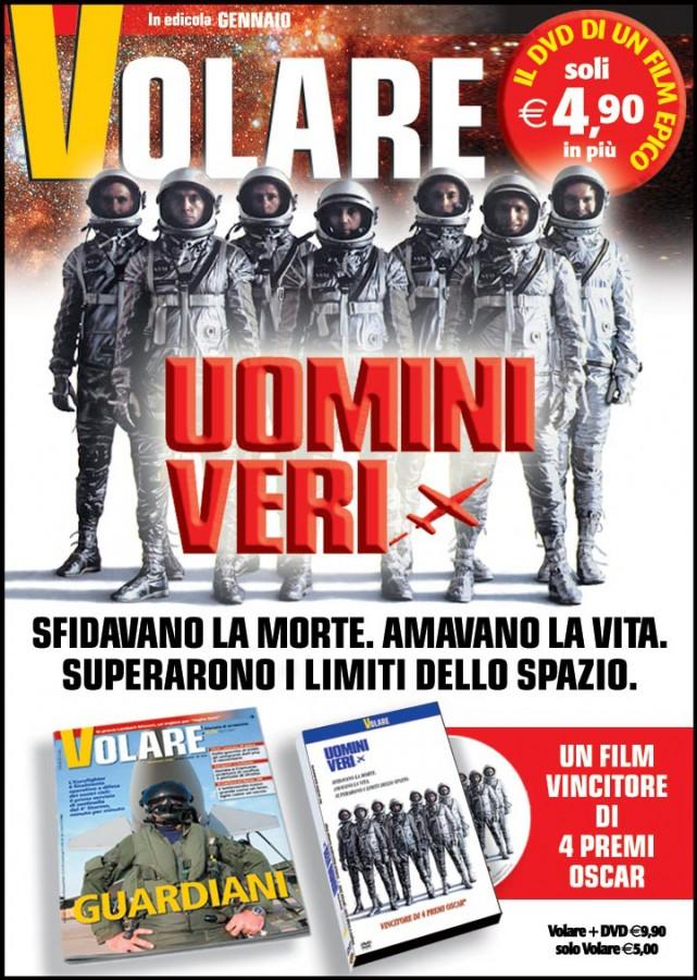 Campagna stampa Volare DVD Uomini veri- (C) Editoriale Domus SpA
