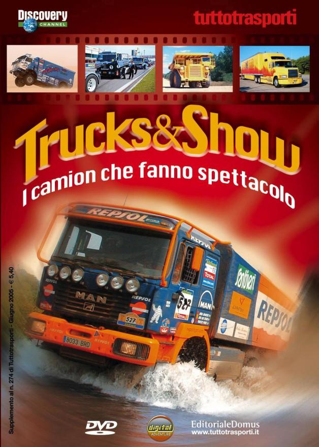 Copertina DVDTrucks&Show- (C) Editoriale Domus SpA
