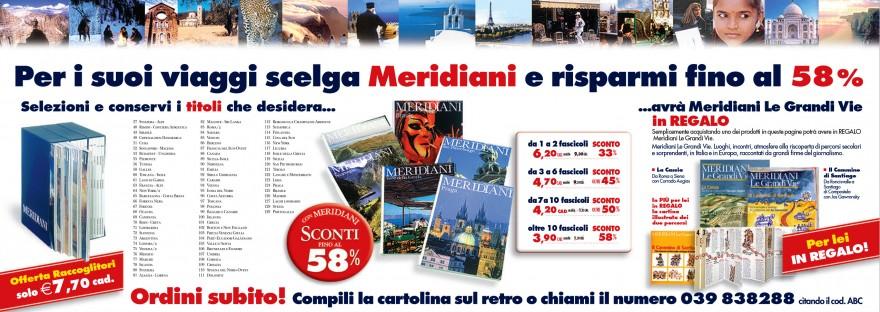 Campagna stampa Abbonamenti Meridiani - (C) Editoriale Domus SpA