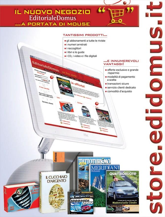 Pagine Edit. Domus store- (C) Editoriale Domus SpA
