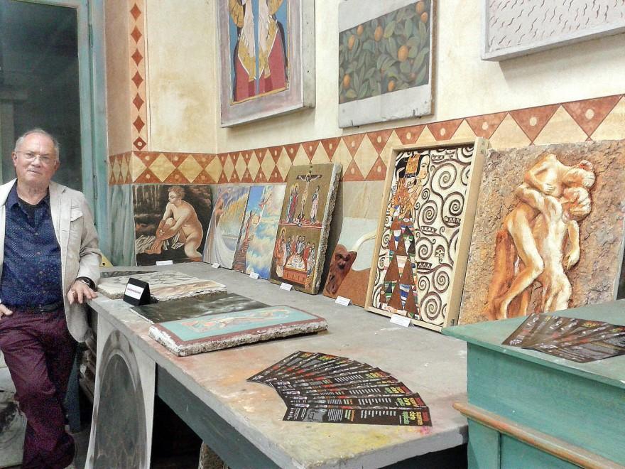 Mostra collettiva di Affresco alla Scuola d'Arte del Castello Sforzesco (2016)